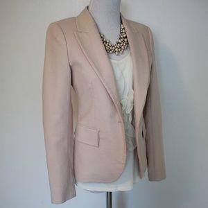 ZARA Size XS Jacket Blazer Pink Blush